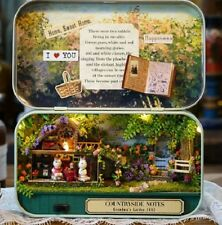 Fairy Garden in a tin DIY Kit Make your own Fairy Garden with LED light