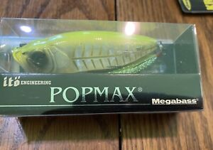 Megabass Popmax Hot Chart Bone Limited Edition Sold Out Very Rare In USA US Ship