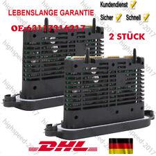 2 X TMS LED Xenon Scheinwefrer Leistungs Modul für BMW 5er F10 63117316217