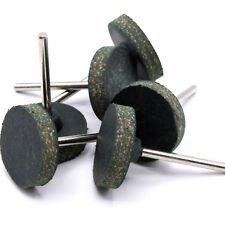 6x Stück Schleifscheibe Gummi - Leder Polierscheibe 25mm für Dremel Proxxon D46