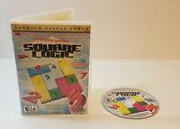 Everyday Genius SquareLogic PC CD-Rom 2009 windows Sudoku-style puzzle game
