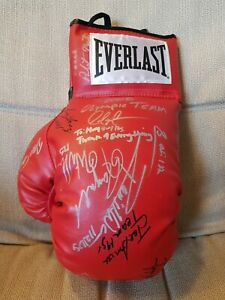 2008 Olympic Boxing Team Autographed Everlast Boxing Glove