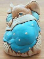 Vintage PenDelfin Stoneware Bunny Figurine 'Peeps' Regd.No.924.864