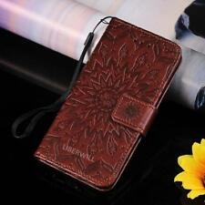Flip Magnetic PU Leather Card Holder Wallet Case Cover Stand For iPhone 5 5s/SE