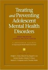 Treating And Preventing Adolescent Mental Health Disorders: What We-ExLibrary