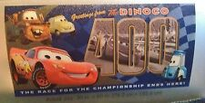 """NEW"" Disney Store  CARS McQueen MATER Luigi GUIDO POSTCARD   BEACH / Bath TOWEL"