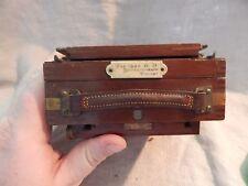 "Vintage Wooden Camera ""1904 BB Instantograph"""