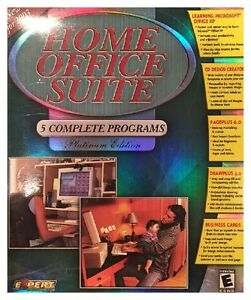 Expert Software Home Office Suite Platinum Edition 2003 Pc New Boxed XP
