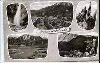 Mehrbild-AK 5 s/w Ansichten Gruss aus KOCHEL am See alte Postkarte Bayern