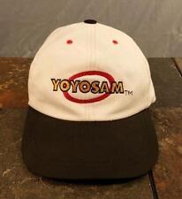 YoYoSam Yo-Yo Adjustable White / Black Promotional Baseball Cap / Hat