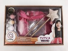 Creatify TUTU AND WAND Creative Role Play Kit DIY PRINCESS Dress Up #62141