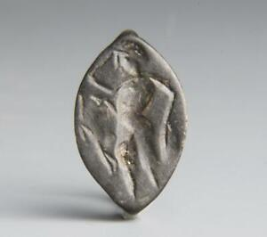 Ancient Greek Ring with Youth: 2nd Century BC.
