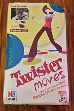 TWISTER Game MOVES w Jesse McCartney EXCLUSIVE REMIX DVD video Fun Game portable