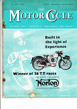 July Weekly Motor Cycle Magazines in English