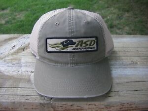Avery Sporting Dog ASD Logo Hat Training Cap NEW Gray Patch Trucker Style