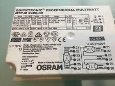 OSRAM QUICKTRONIC QTP-M 2x26-32 MULTIWATT BALLAST