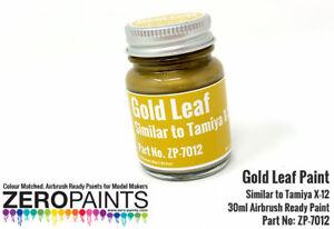 Zero Paints Gold Leaf Paint (30ml, Tamiya X-12)