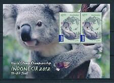 [42359] Australia 2012 Wild Animals Mammals Koala Indonesia Mnh Sheet