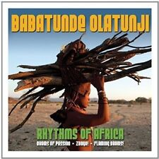 BABATUNDE OLATUNJI - RHYTHMS OF AFRICA 3 CD NEW