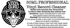 Vinyl Guru Antistatic Professional Record Cleaning Cloth + Fluid 50ml (Small)