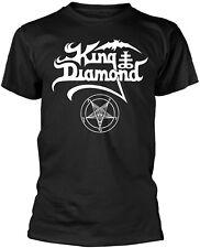 KING DIAMOND Classic Band Logo T-SHIRT OFFICIAL MERCHANDISE