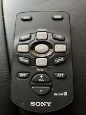 Sony Remote RM-X114 car Audio RARE