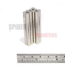 500 pequeños imanes 5x1 mm Imán De Neodimio Disco Fuerte Redondo artesanía 5mm diámetro x 1mm