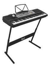 NJS 800 61 Key Full Size Digital Electronic Keyboard Kit INC Stand