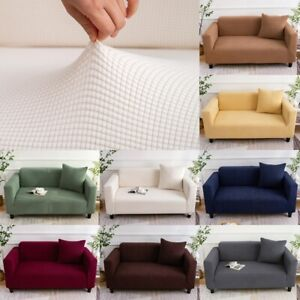 Super Stretch Sofa Cover Couch Lounge Protector Slipcovers 1/2/3/4 Seater Covers