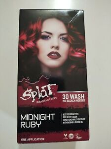 Splat Rebellious colors complete kit midnight ruby long lasting color extreme