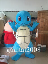 High Quality Squirtle Pokemon Mascot Costume Turtle Halloween Cartoon Costume
