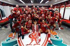 More details for liverpool fc premier league champions 2020 presentation photograph picture