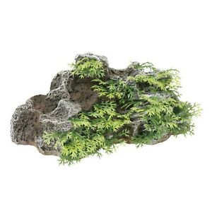 Hagen Marina NATURAL FOREGROUND ROCK & PLANTS Aquarium Decor SMALL