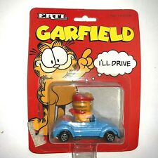 Garfield the Cat ERTL Toy Car Garfield Die Cast Vehicle Vintage 1990'