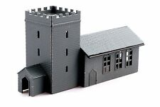 église avec porche - Kestrel Design gmkd04 N bâtiment lot plastique - F1