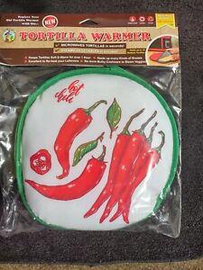 La Tortilla Oven Tortilla Warmer Microwave Vegetable Steamer BPA Free New