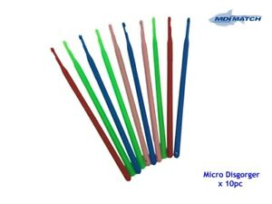 MDI Match 10 x Micro Fishing Unhooking Disgorgers - Various Colours