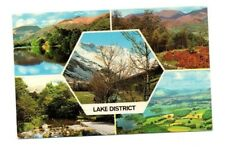 Cumbria - The Lake District - Multiview Postcard Franked 1979