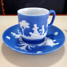 Decorative Wedgwood Pottery Cups & Saucers