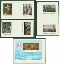 Yemen Royalist 1968 UNESCO Venice Art MASTER PROOFS