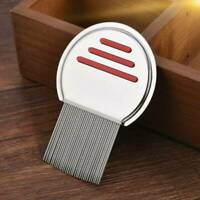 Hair Lice Comb Brush Stainless Steel Nit Free Terminator Fine Egg Dust Removal