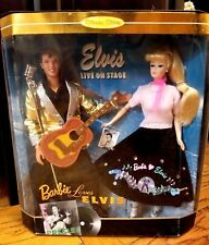 1996 Barbie Loves Elvis Dolls & 1968 Elvis Television Special ~ Lot