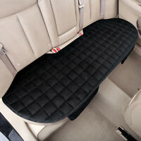 Universal Rear Back Car Seat Cover Protector Mat Chair Cushion Pad Black Plush