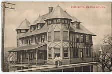 The Park Hotel in Ellwood City PA OLD