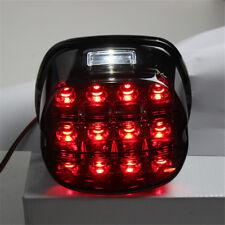 12V Motorcycle Smoke LED Tail Brake License Plate Lamp Light