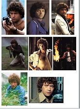 MARTIN SHAW THE PROFESSIONALS 8 DIFFERENT FRIDGE MAGNETS BIRTHDAY GIFT DOYLE NEW