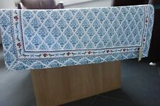 Tischläufer blau Vögel + kleine Rosen Tischdecke Deko Gartendecke Clayre&Eef