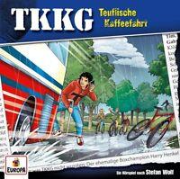 TKKG - 205/TEUFLISCHE KAFFEEFAHRT   CD NEW