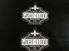 Craft Beer Great Flood Brewing Decals