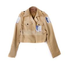 Abrigo Ropa P/Attack on Titan Chaqueta Shingeki No Kyojin Cosplay Disfraces